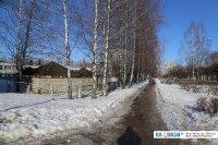 Дорожка вдоль улицы Кадыкова