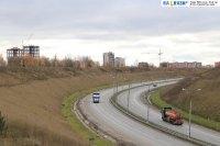 Трасса Вятка на въезде в Новочебоксарск