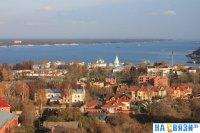Чебоксары - Вид на старый город