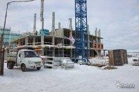 """Строительство 22-этажного дома ЖК """"Ривьера"""""""