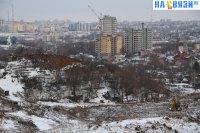 Место для будущих застроек микрорайона Радужный