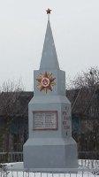 Памятник погибшим в Великой Отечественной войне на улице Аникеевской