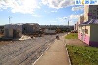 Пост охраны на улице Челомея