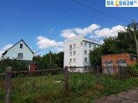 Вид на Дом союзов с улицы Чебоксарская