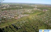 Вид на частный сектор поселка Кугеси