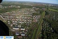 Вид на Частный сектор и железную дорогу - Кугеси