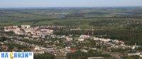 Вид сверху на поселок Кугеси