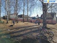 Сквер Стрекоза и Муравей на улице Баснописца Крылова