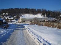 Дорога в сторону деревообрабатывающего предприятия