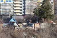 Частный сектор на улице Маяковского