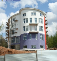 Строительство гостиницы по улице Петрова