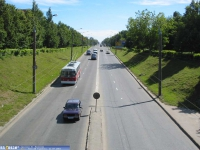 Проспект И.Яковлева, вид с моста