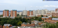 Вид на ул. Университетская с бульвара Юности