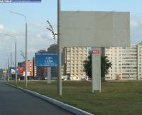 Рекламный щит на въезде в Новочебоксарск