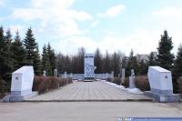 Памятник в парке культуры и отдыха