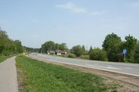 Дорога в районе деревни Чандрово