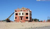 Строительство базы отдыха в Октябрьском