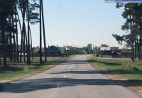 Въезд в поселок