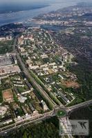 Московский проспект с высоты птичьего полета