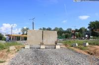 Закрытый въезд на проспект Айги с улицы Фучика