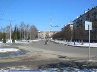 проспект Ленина в районе ул. Гладкова