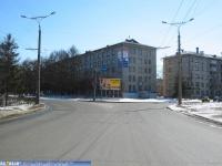 Проспект Ленина в районе сквера Чапаева