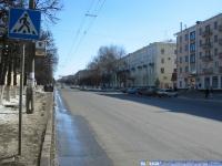 """пр. Ленина в районе гостиницы """"Чувашия"""""""