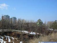 Вид на ул. Сверчкова через овраг