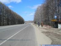 """Остановка """"Мясокомбинат"""" на Канашском шоссе"""