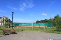 Новые теннисные корты