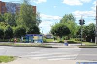 """Остановка """"Маслосырбаза"""", пешеходный переход"""