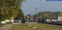 вид на перрон ж/д вокзала