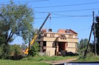 Строящийся коттедж по ул. К.Иванова