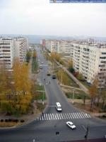 Вид на улицу Чернышевского с высоты