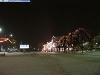 Вечерний зимний залив