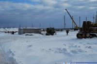 """Строительство дилерского центра """"NISSAN"""" 2013-02-05"""