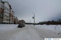 Улица Ислюкова зимой