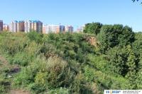 Вид на Волжский-3 со стороны Волги