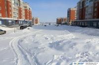 Зимний Приволжский бульвар