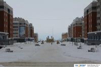 Приволжский бульвар в январе