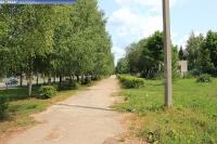 Пешеходная дорожка на улице Л.Комсомола