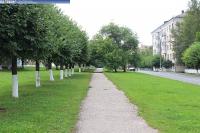 Пешеходная дорожка на улице Текстильщиков