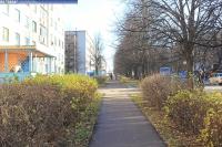 Пешеходная дорожка по улице Грасиса