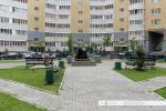 Сквер с фонтаном во дворе Университетской 38-4