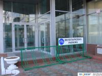 Велопарковка у МТВ-Центра
