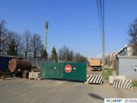 Улица Николаева перекрыта на ремонт