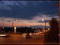 Сугутский мост вечером