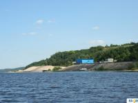 Заплыв по Волге на моторной лодке