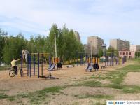 Спортивная площадка 62 школы