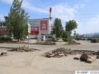 Ремонт на улице Кривова